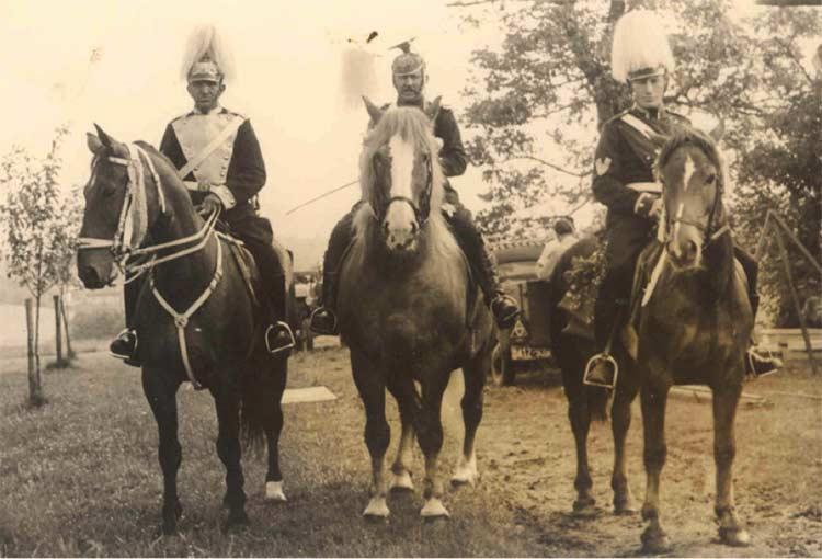 Uhlans lors de la 1ère guerre mondiale