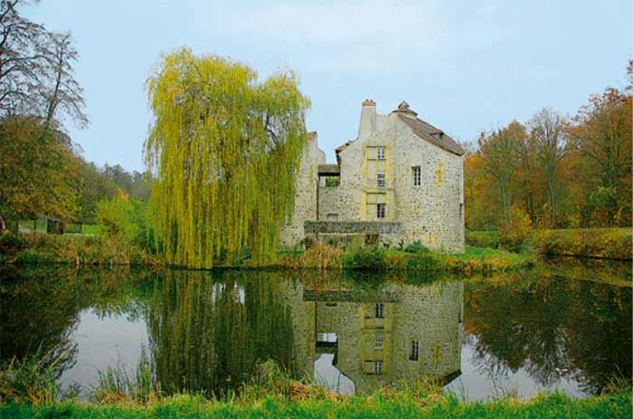 Château de la Chasse dans la forêt de Montmorency